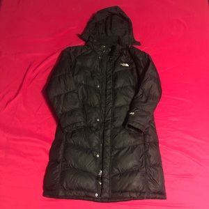 The North Face 550 Goose Down Parka Winter Jacket